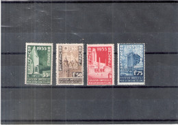 Belgique 386/89 - XX/MNH - Exposition Universelle De Bruxelles 1935 - 1935 – Brussels (Belgium)