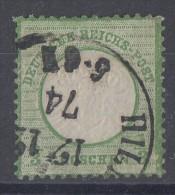 DR Minr.17 Gestempelt 17.12.74 Kleine Marke - Deutschland
