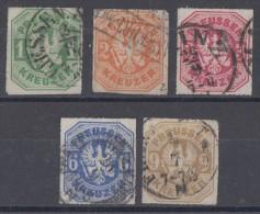 Preussen Minr.22-26 Gestempelt - Preussen