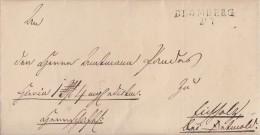 Brief Gelaufen Von L2 Blomberg 21.7. Nach Detmold Von 1841 Ansehen !!!! - Deutschland