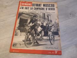 LA SEMAINE. HEBDOMADAIRE ILLUSTRE. N°87 .2 AVRIL 1942. - Revues & Journaux