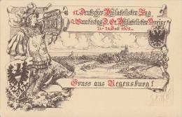 Bayern Privat-GS Minr.PP10 17.dt. Phila-Tag Regensburg 1905 Postfrisch - Bayern