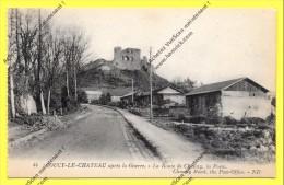 CPA 02 COUCY LE CHATEAU  La Poste Provisoire En BOIS, Après La Guerre 14 /18 - France
