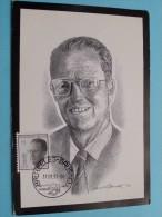 Koning BOUDEWIJN - Roi BAUDOUIN Afstempeling 17-08-1993 ( Zie Foto Voor Detail ) !! - Royal Families