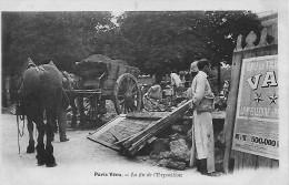 """PARIS  Série PARIS VECU  """" LA FIN DE L´EXPOSITION """" Une Des Plus Rare De La Série N° 34-1er Tirage -0RIGINALE     A VOIR - France"""