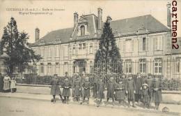 COURVILLE ECOLE DE GARCONS HOPITAL TEMPORAIRE N°43 GUERRE - Courville