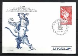 """Francia. 1997_Entero Postal Administrativo. """"El Gato Con Botas"""" - Official Stationery"""