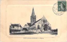 """78 - CONFLANS STE HONORINE : L'Eglise - Jolie CPA Avec """"cadre"""" - Yvelines - Conflans Saint Honorine"""