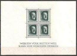 DR 1937 // Michel Block 7 ** (1356) - Blocks & Kleinbögen
