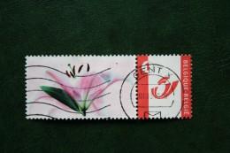 BLOEMEN BLUME FLEUR FLOWER Duostamps Persoonlijke Postzegel Timbre Personalisé Oblitéré Gestempeld Used Belgie Belgique - België
