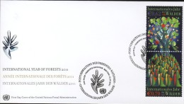 Nations Unies (ONU) Vienne (Wien) Année Internationale Des Forêts 2011 1er Jour FDC  - 663 - FDC