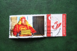 MEGAMINDY Duostamps Persoonlijke Postzegel Timbre Personalisé Oblitéré Gestempeld Used Belgie Belgique - Belgique