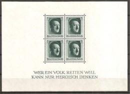 DR 1937 // Michel Block 7 ** (1354) - Deutschland