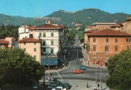 Montecatini Terme - Viale Verdi (con Auto E Insegne Pubblicitarie) - Italien