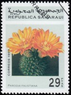 SAHARA OCC. R.A.S.D. - YW1698 Parodia Faustiana / Used Stamp - Cactusses
