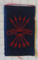 SPAGNA - GUERRA CIVILE Medaglia / Distintivo - Distintivo Di Appartenenza FALANGE - Armée De Terre
