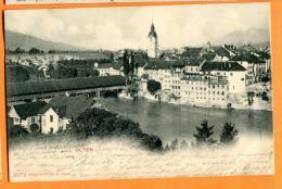 PBG-02  Olten Pioneer. Gelaufen Mit Stempel Sissach Und Vallorbe 1904 - SO Solothurn