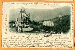 LOL091, Schloss Drachenburg, Précurseur, Circulée 1899 - Koenigswinter