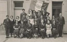 Isere - Moirans - Carte Photo De Conscrits 1934 - Classe - Moirans