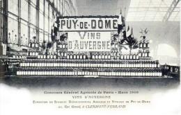 CONCOURS Général Agricole - Paris Mars 1908 - Salon Des Vins D'Auvergne - Clermont Ferrand
