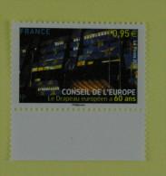 """France 2015 Conseil De L'Europe """" Le Drapeau  Européen """" - Service"""