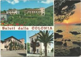 O1257 Pietra Ligure (Savona) - Saluti Dalle Colonie - Colonia Permanente G. Oberdan / Viaggiata 1969 - Italy