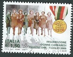 Italia  2009 ; Insurrezione Delle Donne Carraresi . Serie Completa . - 6. 1946-.. Repubblica