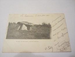 CPA DOLMEN DE MENARDEIX A PIONAT 1903 - France
