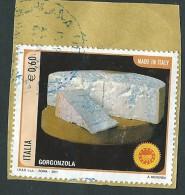 Italia 2011 ; Formaggi DOP : Gorgonzola , Su Spezzone. - 6. 1946-.. Repubblica