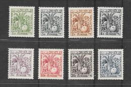 CD83 Tunisie Série De 8 Timbres Taxes N°66 à 73 N+ - Tunisie (1888-1955)