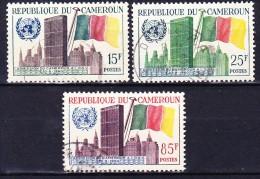 CAMEROUN 1961 YT N° 317 à 319 Obl. - Cameroun (1960-...)