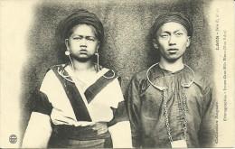 LAOS - Jeunes Gens Méos Blancs (HUA PANH)  -- Raquez, Série E 11 - Laos