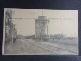 GRECE - Salonique - La Tour Blanche - Carte Pour Paris - Avec Censure - 1916 - A Voir - P 15041 - Gibraltar