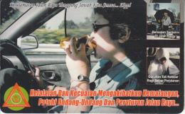 BRUNEI(chip) - In The Car, Zippi Telecard $10, 01/05, Used - Brunei