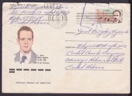 1986-EP-116 CUBA 1986. Ed.199d. ANGOLA WAR. POSTAL STATIONERY. MARTIRES DEL MONCADA. RAUL GOMEZ. - Cuba