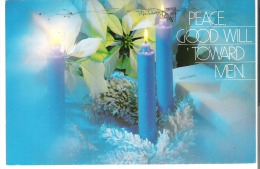 Merry Christmas  Peace Good Will Toward Men May The Love Of Christ Fill All Your Days. - Noël