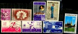 Thailande Scott N° 366.440.443.444.586.604.561.629...oblitérés - Thailand