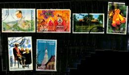 Thailande Scott N° 1672.1749.1752.1904.987.868...oblitérés - Thailand