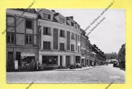 CPSM 76 NEUFCHATEL EN BRAY Grande Rue Commerce De Cycles Auto 1955 - Neufchâtel En Bray