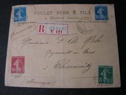 == France Beaune R-cv. 1911 - Francia