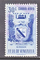 Venezuela  C 397    (o)  ARMS Of  MIRANDA - Venezuela