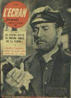 L´ECRAN FRANCAIS CINEMA N°295 1951 CHARLIE CHAPLIN PIERRE BRASSEUR DANIELLE DARRIEUX TAMARA MAKAROVA CLAUDINE DUPUIS - Cinema
