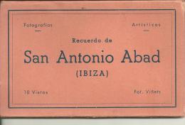 177       Carnet De 10  Cartes Postale  Ibiza - Unclassified