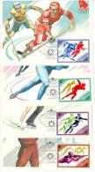 1984 Sarajevo Olympic Ice Hockey Speed Skating Figure Skating Biathlon Carte Maximum Card - Winter 1984: Sarajevo