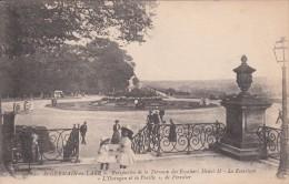 "Cp , 78 , SAINT-GERMAIN-en-LAYE , Perspective De La Terrasse Des Escaliers Henri II , Le Rosarium, ""L'Ouragan Et La Feui - St. Germain En Laye"