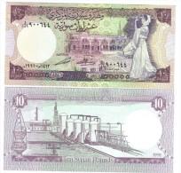 SYRIA  SIRIA  10 POUNDS 1991  Pik 101e - FDS  UNC Lotto 1083 - Siria