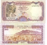 YEMEN ARAB REPUBLIC  100 RIALS  1994 Sign. 9  Pik 28  FDS UNC Lotto 1240 - Yemen