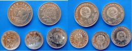 KOREA NORTH SET 5 PZ 2002-2008 FDC UNC - Corea Del Norte