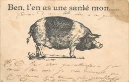 COCHON - Ben,t'en As Une Santé Mon.... - Cochons