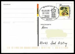 36957) BRD - Ganzsache PSo 77 I - SoST 80331 MÜNCHEN Vom 29.11.2002 - Christkindl-Markt, Kirche - Machine Stamps (ATM)